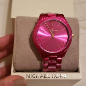 Hot Pink Michael Kors Watch